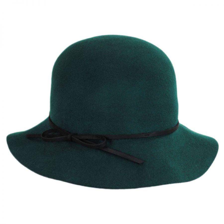 Goorin Bros Mrs. Blanc Wool Felt Cloche Hat Cloche ...