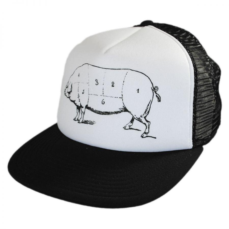 hat co pork belly trucker snapback baseball cap