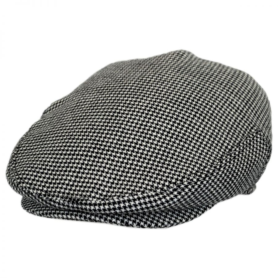 36b94e21 Baskerville Hat Company Henry Houndstooth Wool Ivy Cap Ivy Caps