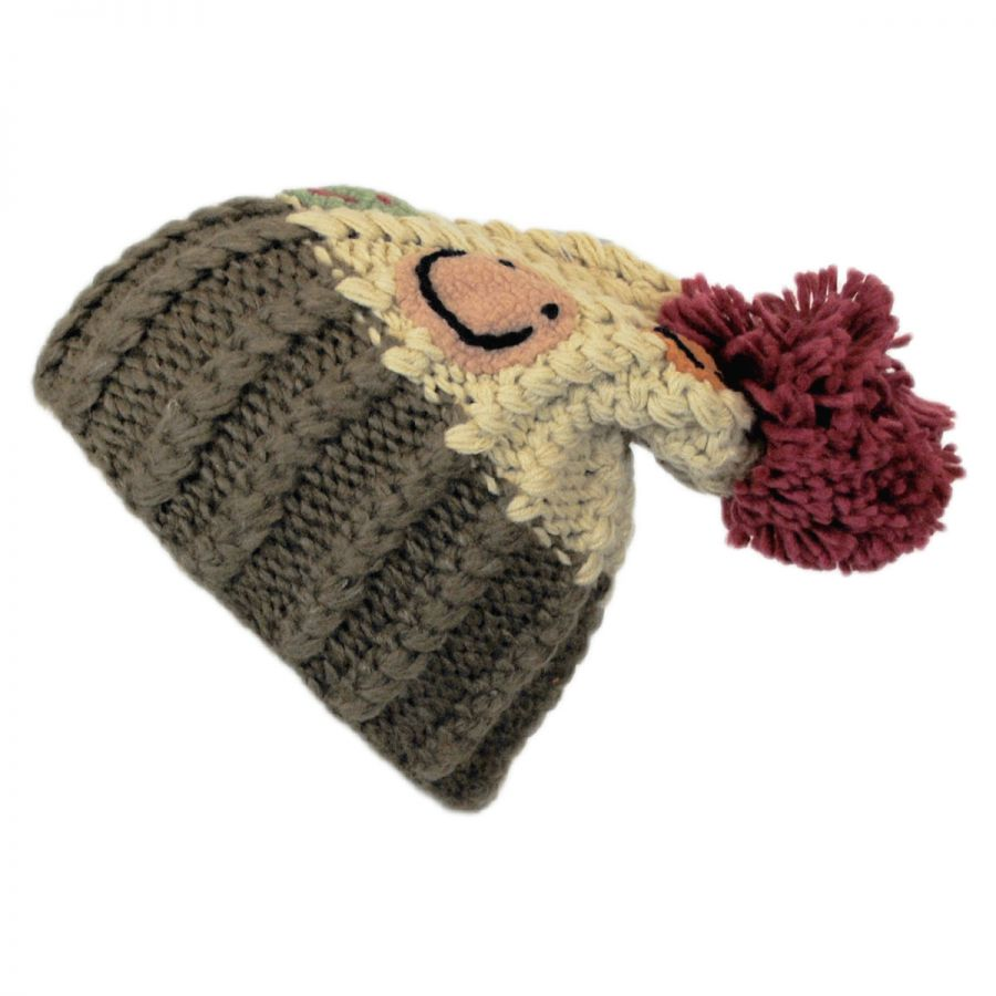 Knitting Warehouse Location : Jeanne simmons kids smiley pom knit beanie hat boys