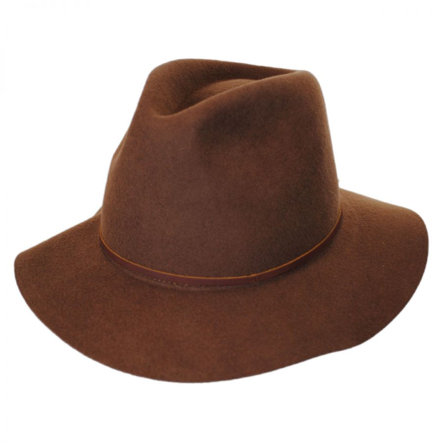 brixton hats wesley wool felt floppy fedora hat casual hats