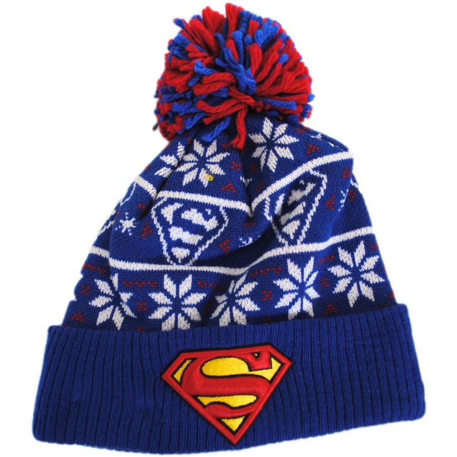 d774bcb6a7b New Era DC Comics Superman Sweater Knit Beanie Hat Animation ...