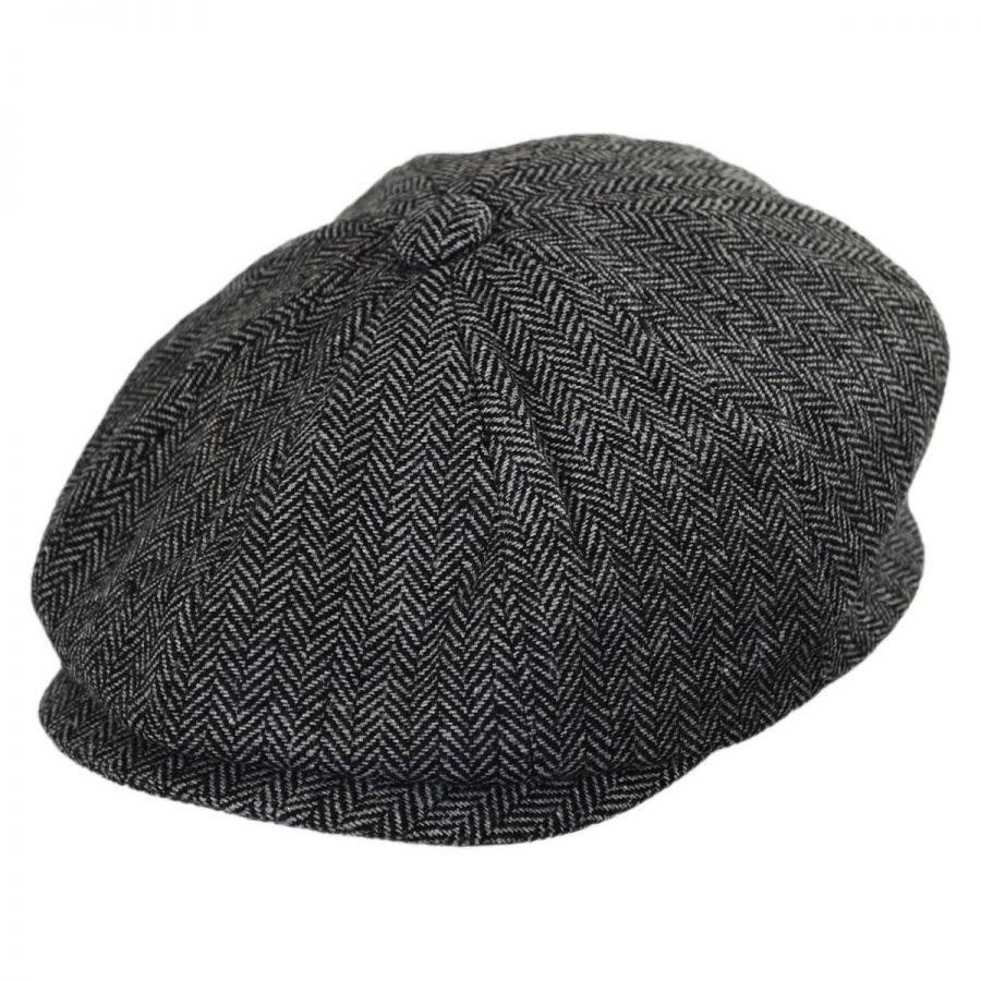 Jaxon Hats Baby Herringbone Wool Blend Newsboy Cap Baby and Toddlers a48bc8e7e49