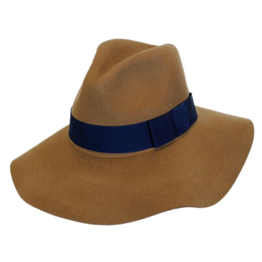 Brixton Hats Piper Wool Felt Floppy Fedora Hat All Fedoras df288766f