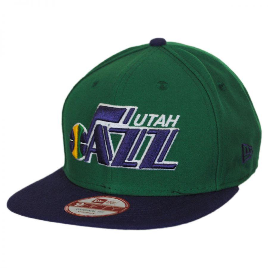 aba28e04f76 Utah Jazz NBA Hardwood Classics 9Fifty Snapback Baseball Cap alternate view  1