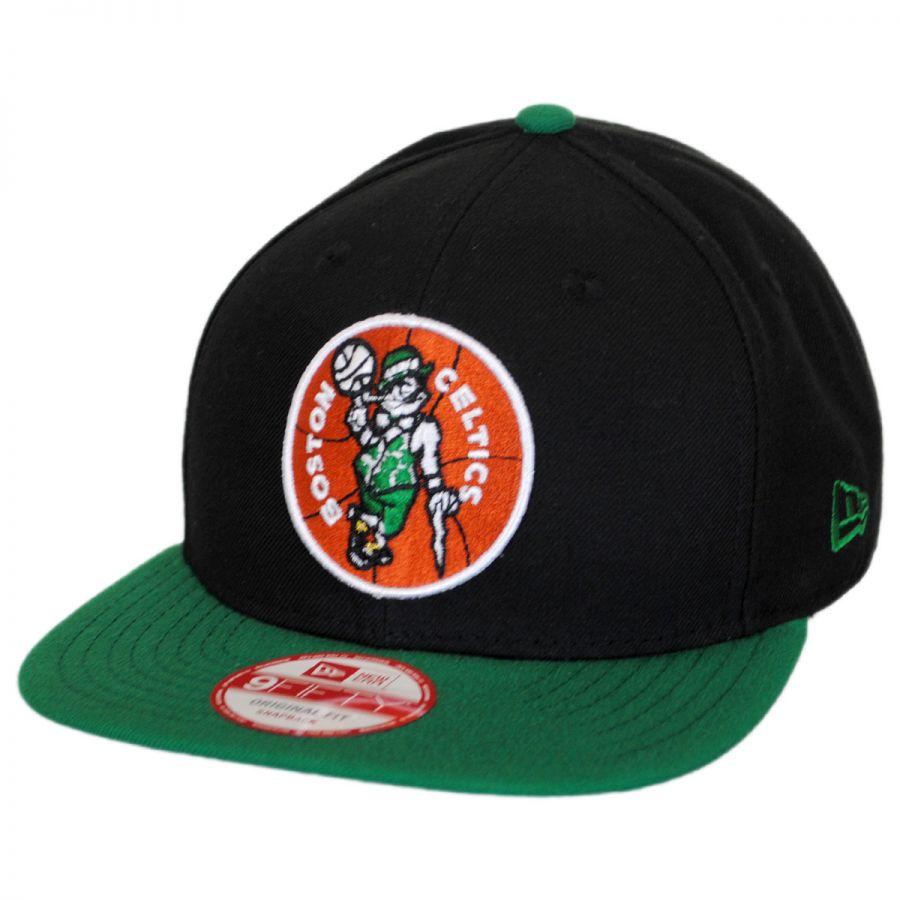 833e9af6564 Boston Celtics NBA Hardwood Classics 9Fifty Snapback Baseball Cap alternate  view 1