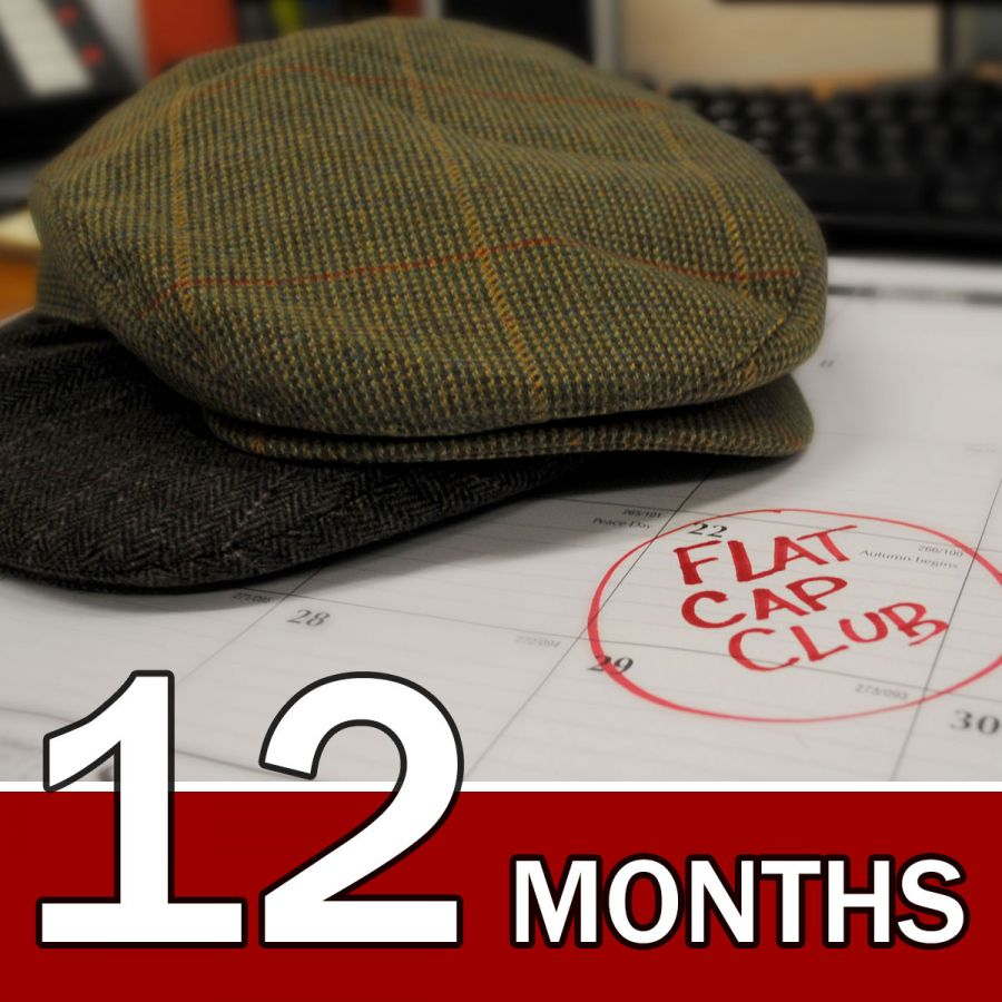 Village Hat Shop USA 12 Month Flat Cap Club Gift Subscription Gift ... 827338cacb5