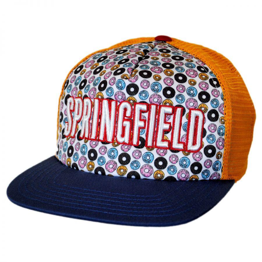 American Needle Springfield Trucker Snapback Baseball Cap Snapback Hats 8a2eb1f4b4a