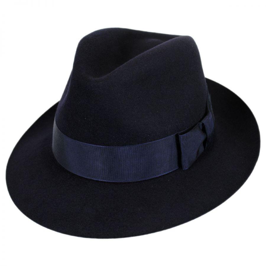 bc79fde15506f Christys' of London Bond Fur Felt Trilby Fedora Hat Fur Felt