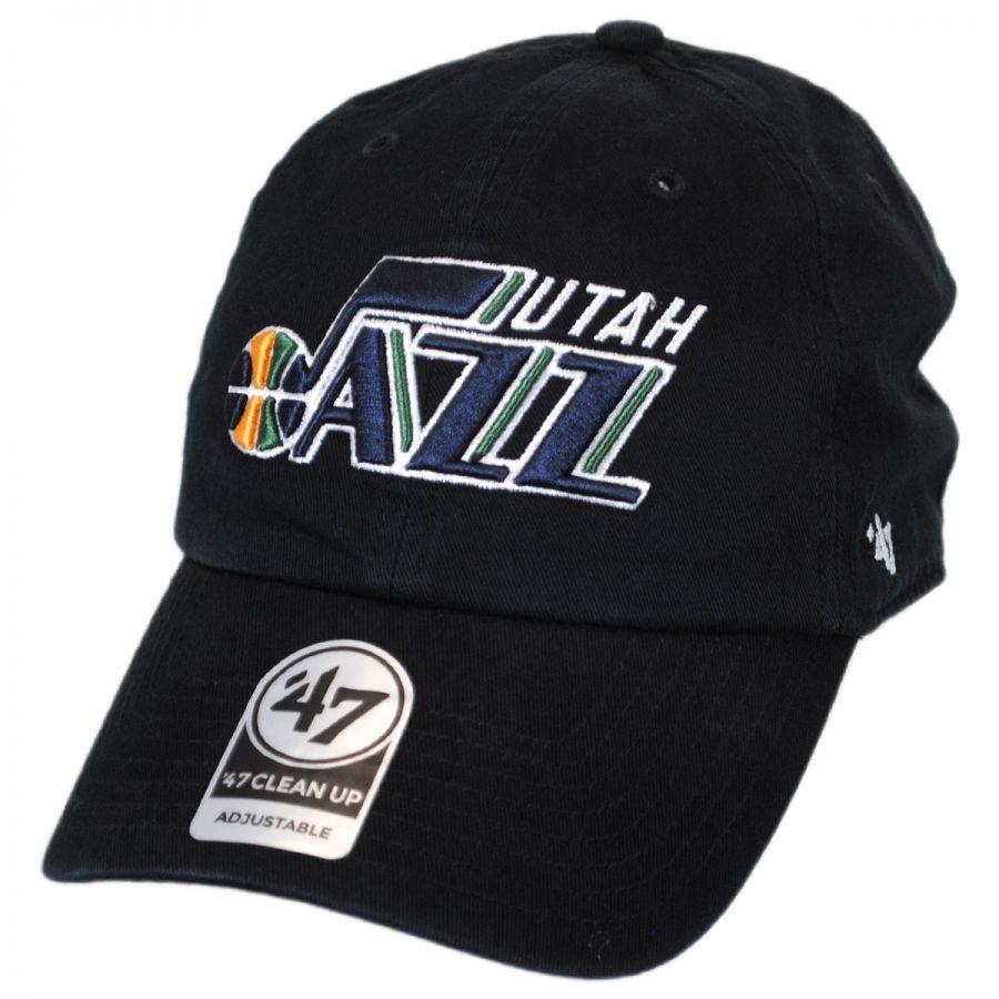 a77258f3e8fde ... low price 47 brand utah jazz nba clean up strapback baseball cap dad hat  99145 12fb8