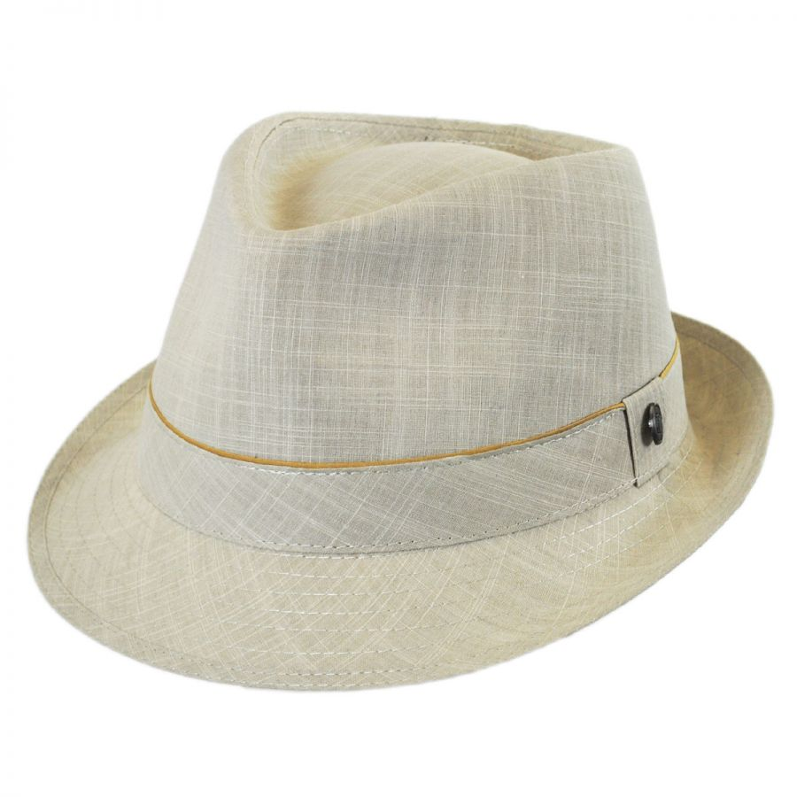 6edad52a88 Jaxon Hats Cotton Trilby Fedora Hat Stingy Brim & Trilby