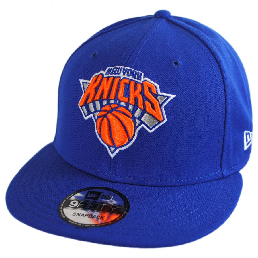 huge selection of 9e99e b37b8 New York Knicks NBA On Court Snapback Baseball Cap alternate view 3