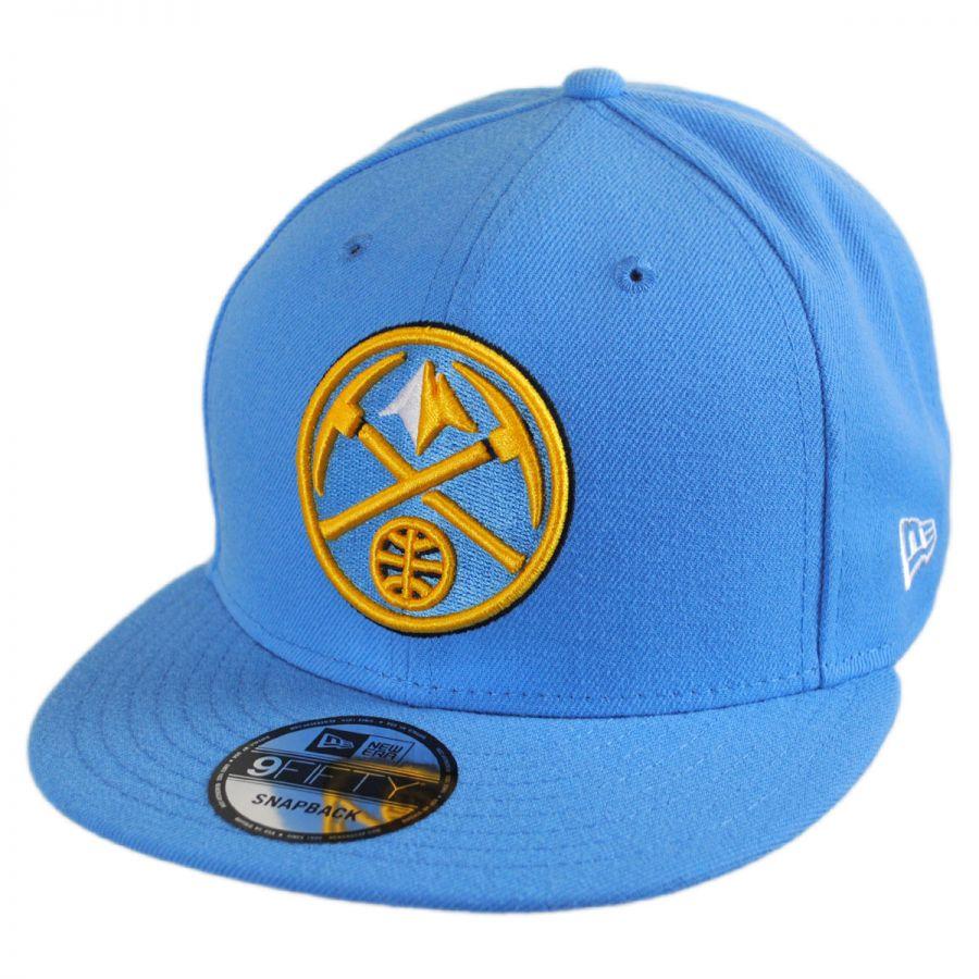 Denver Nuggets Court: New Era Denver Nuggets NBA On Court Snapback Baseball Cap