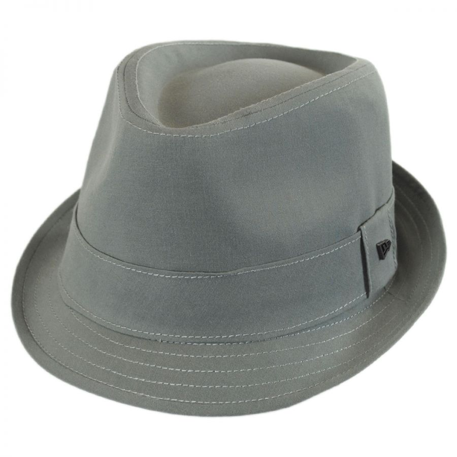 EK Collection by New Era Essential Cotton Trilby Fedora Hat Stingy ... 0f08ece319f3