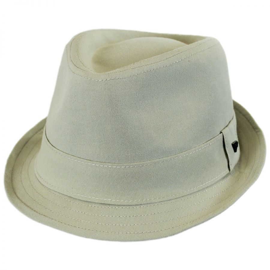 EK Collection by New Era Essential Cotton Trilby Fedora Hat Stingy ... 5d14173dd