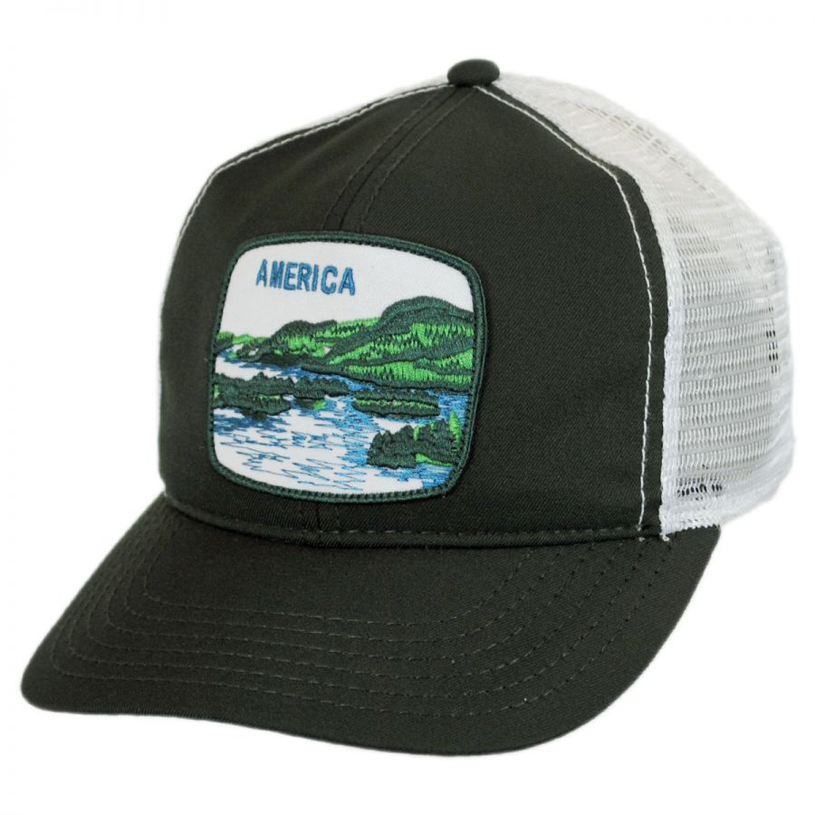 ... watch f7931 77204 Uhmerica Mesh Trucker Snapback Baseball Cap alternate  view 5 ... 37c960562ee