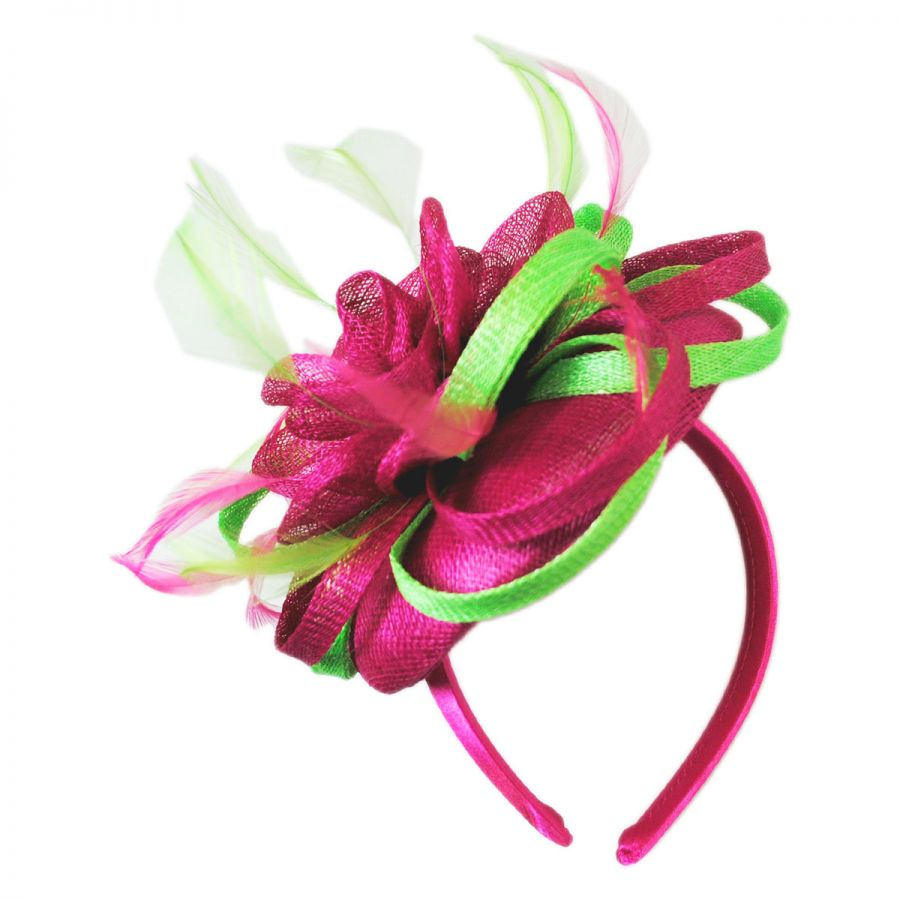 Scala Two-Tone Fascinator Headband Fascinators   Headbands 81992e88082