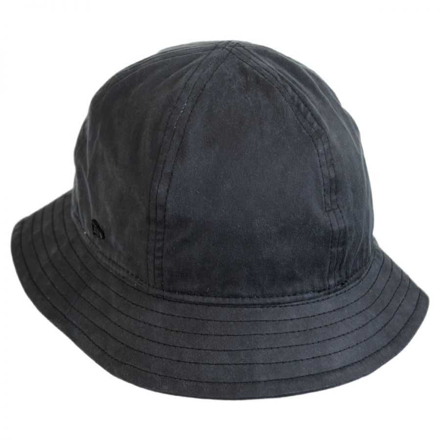 EK Collection by New Era Coated Cotton Bucket Hat Bucket Hats a0f5136f187