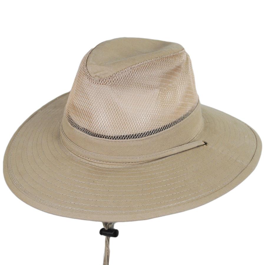 Dorfman Pacific Company Solarweave Breezer Aussie Hat Sun Protection b552aef09050