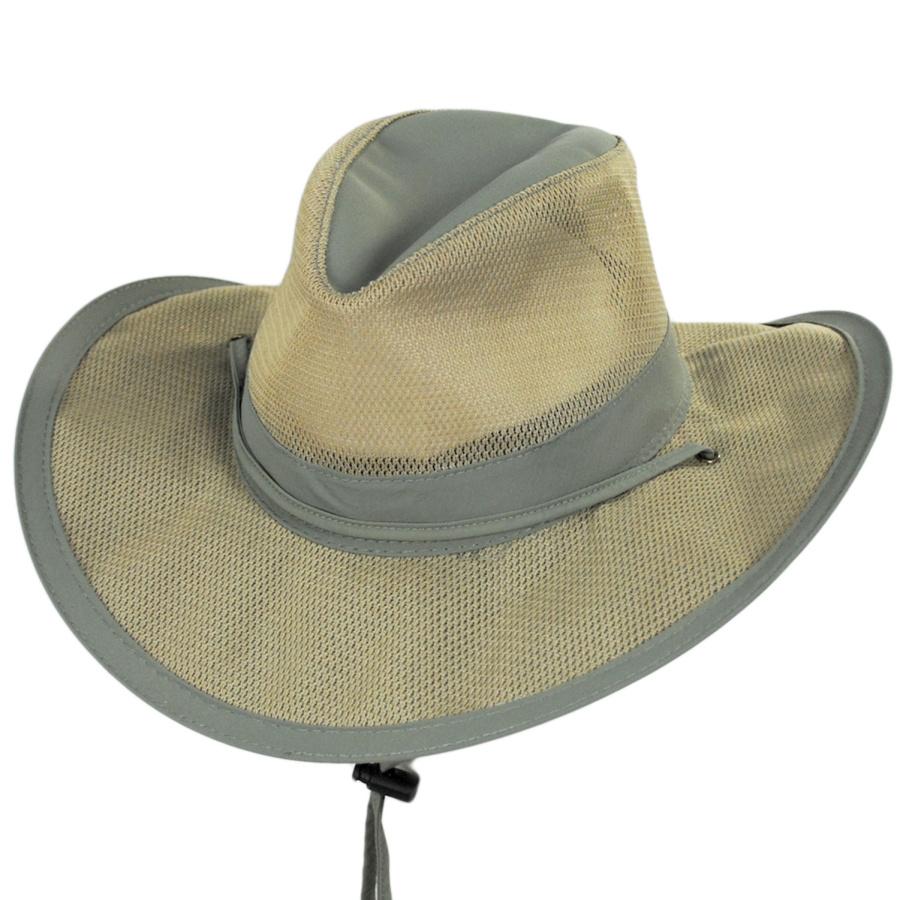 Dorfman Pacific Company Supplex Aussie Hat Sun Protection 05a6a1419fa