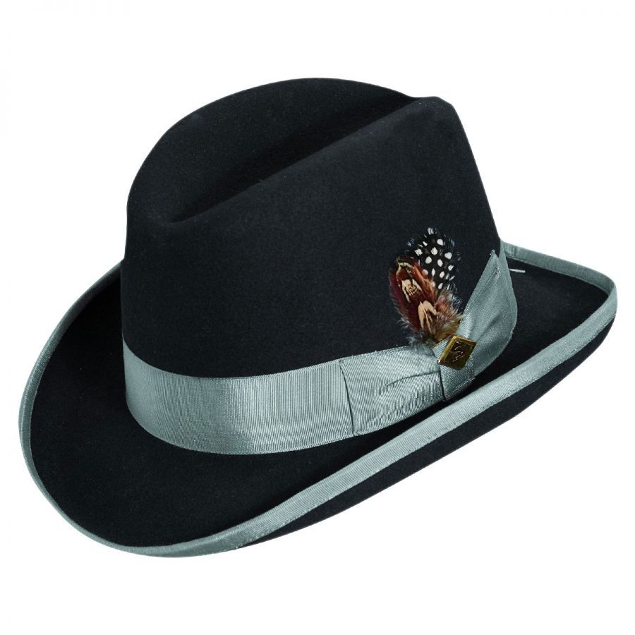 a18c136771b84 Stacy Adams Homburg Hat Derby   Bowler Hats