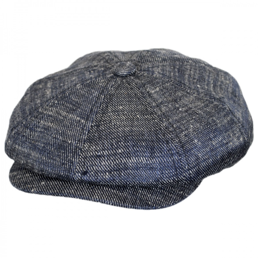 Stetson Linen and Silk Denim Newsboy Cap Newsboy Caps 7e8debbc9fb3