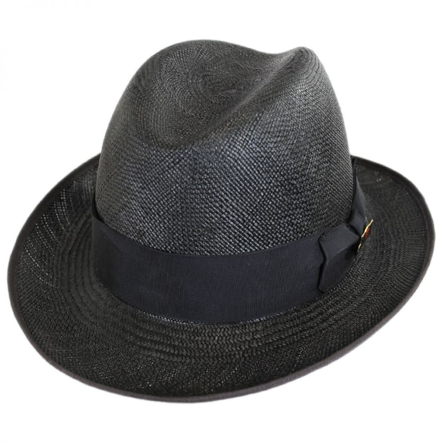 0011e89f75ae Biltmore Churchill Panama Straw Homburg Hat Panama Hats