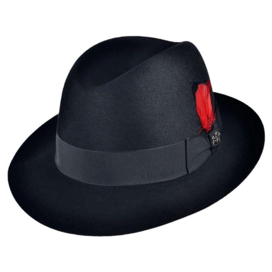 Biltmore Chicago Fur Felt Fedora Hat Fur Felt 729a21fa0fe