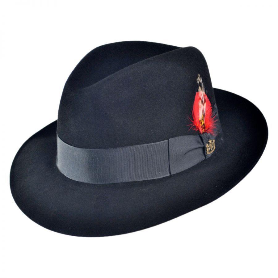 Biltmore Detroit Fur Felt Fedora Hat Fur Felt 07c4ca3e3a2
