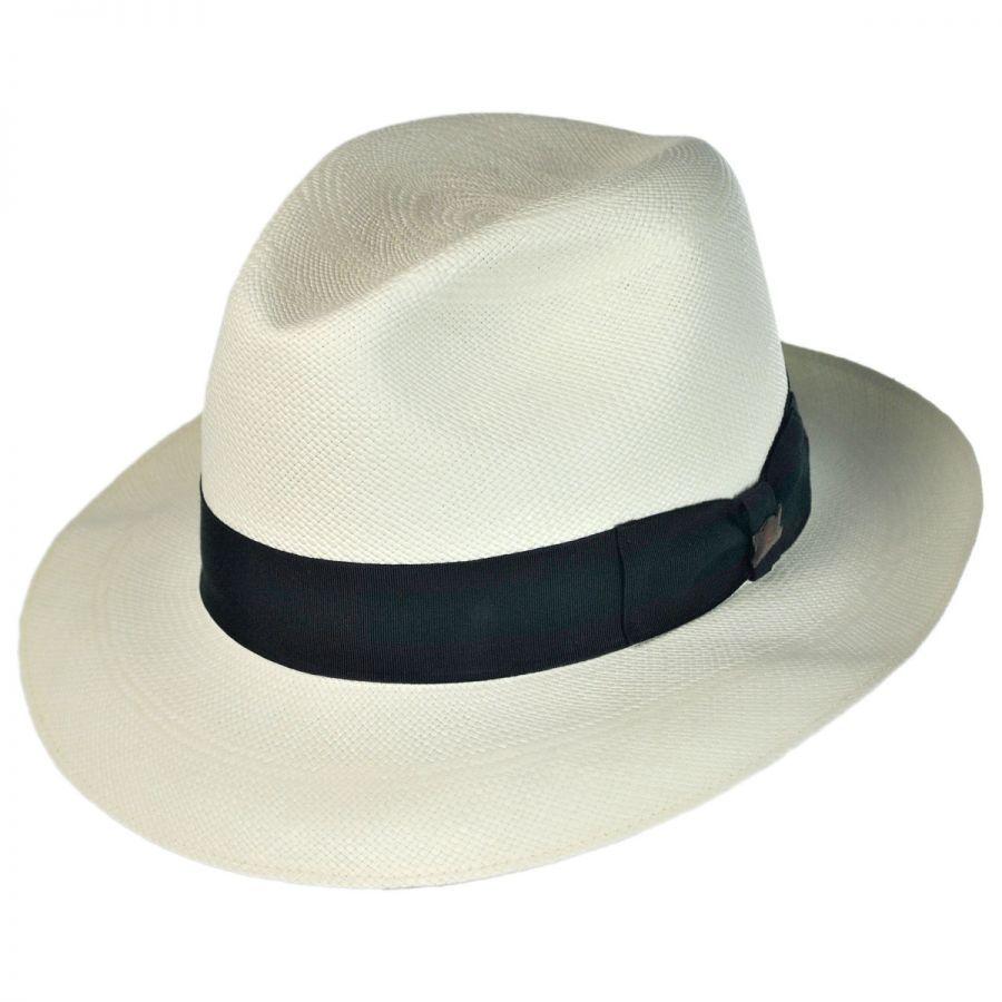 4364f120 Biltmore Supreme Imperial Panama Straw Fedora Hat Panama Hats