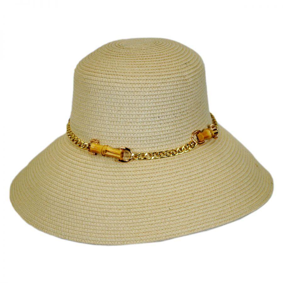 San Remo Toyo Straw Sun Hat alternate view 3 a06df46a70a