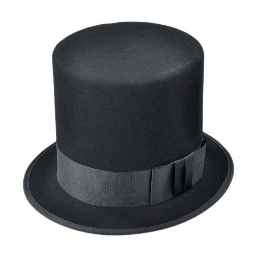 Hatcrafters Abraham Lincoln Wool Felt Top Hat - Made to Order Top Hats 157b35e3835