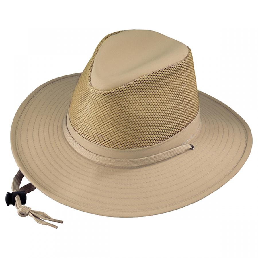 Henschel Solarweave Crushable Aussie Fedora Hat Sun Protection 17b106726e