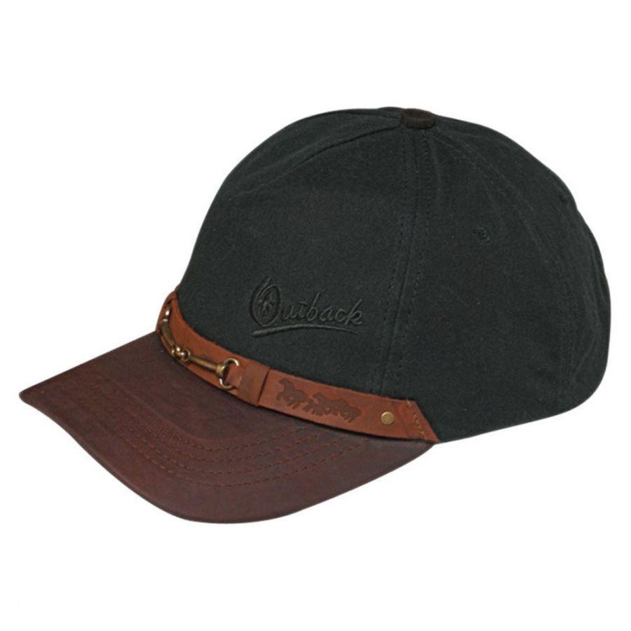 Outback Trading Company Equestrian Cotton Oilskin Baseball Cap All ... 6996747e6e8