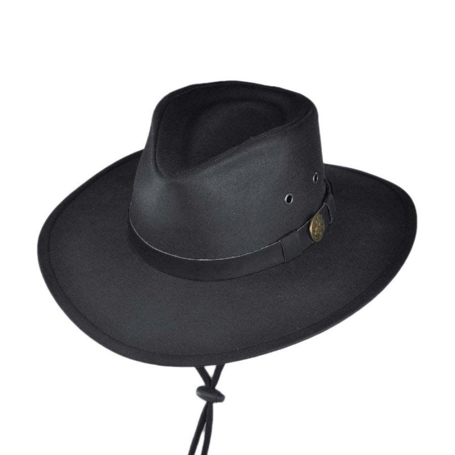 Outback Trading Company Kodiak Oilskin Cotton Outback Hat Rain Hats 91b3ac38fc2