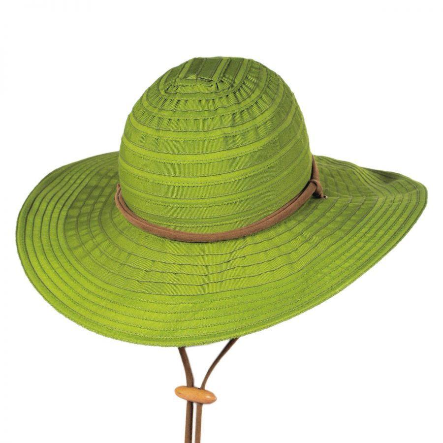 San Diego Hat Company Ribbon Floppy Chincord Sun Hat Sun Hats 9b2f823b3b9