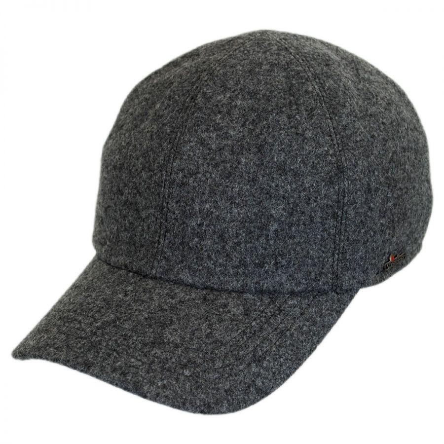 Wigens Caps Melton Wool Earflap Baseball Cap All Baseball Caps