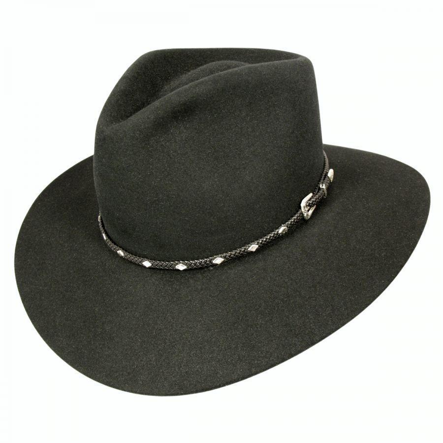 0ff5aedba13fe Stetson Diamond Jim Fur Felt Cowboy Hat Western Hats
