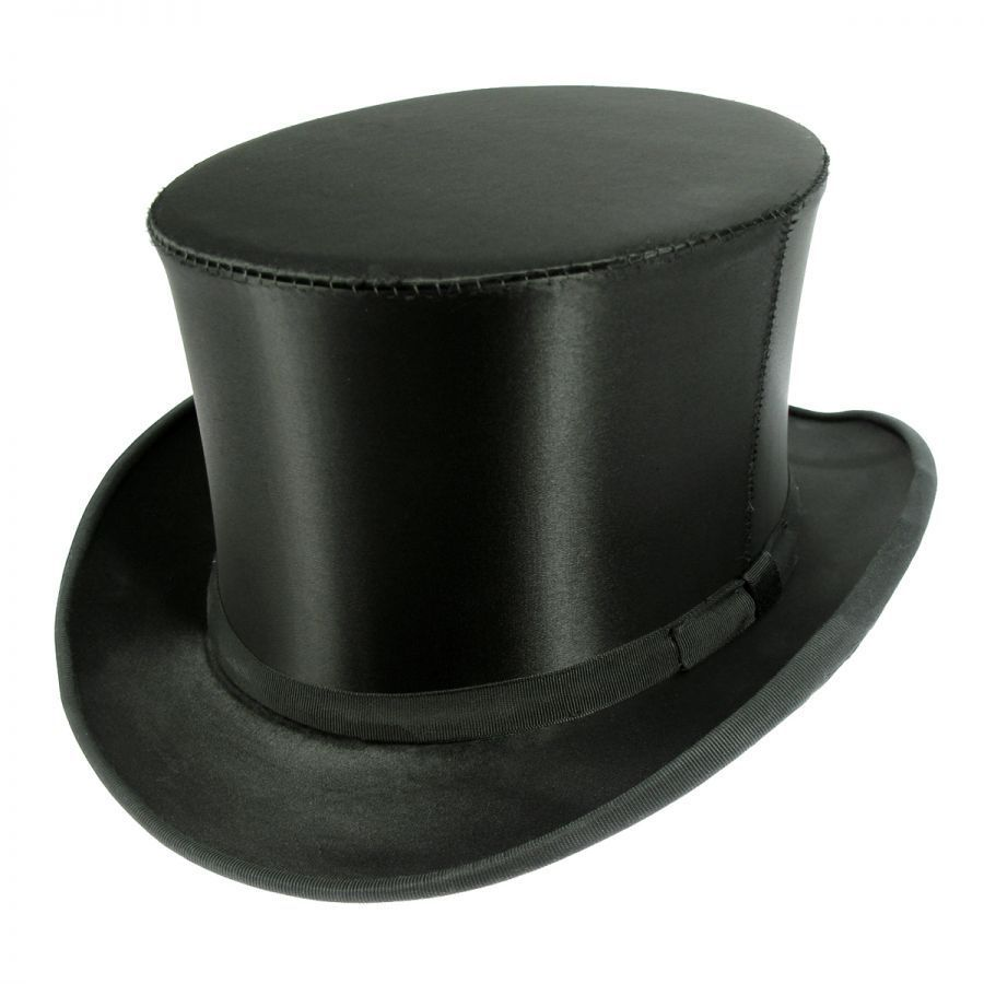 top hats of america satin collapsible opera top hat top hats