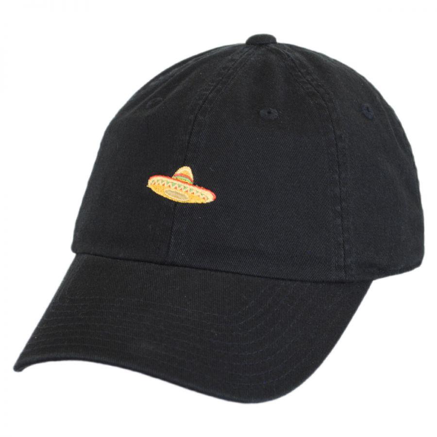 American Needle Micro Sombrero Strapback Baseball Cap Dad Hat All ... 067dd348229