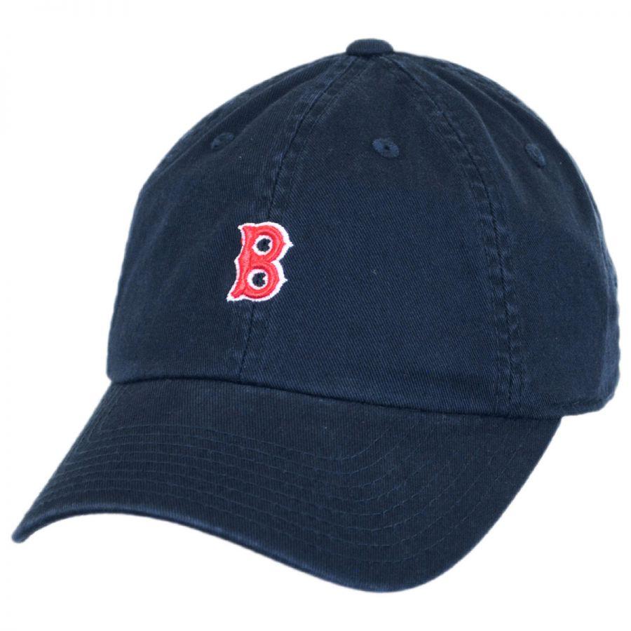 American Needle Boston Red Sox Mlb Micro Logo Strapback
