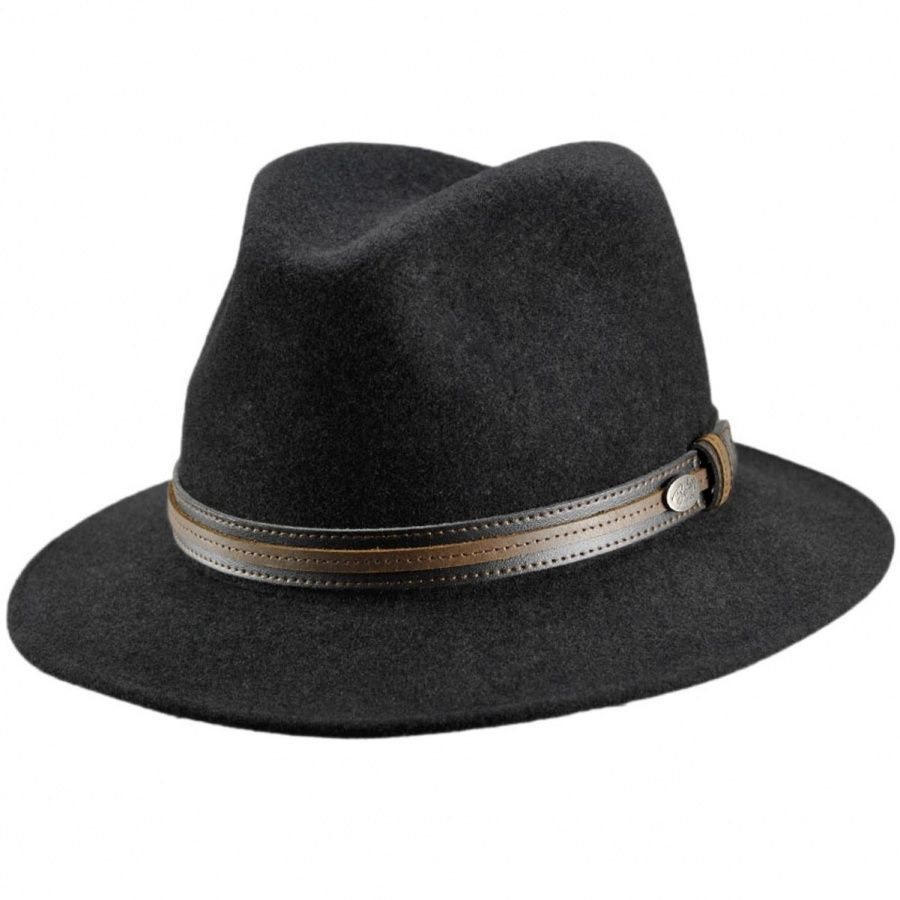 7d5c5e34e3eca Bailey Brandt Lanolux Wool Felt Fedora Hat Crushable