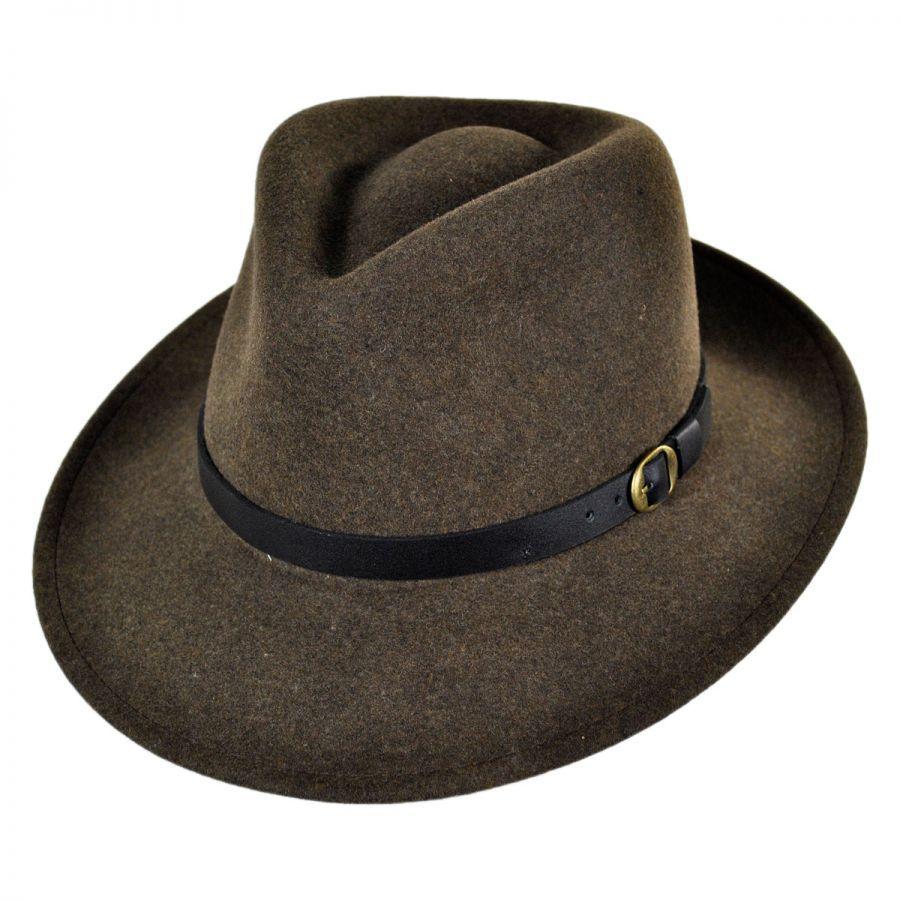 0bf6ab1cc Briar Wool Felt Fedora Hat