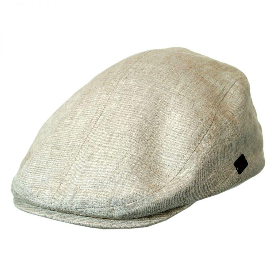 a89f08874 Harston Linen Ivy Cap