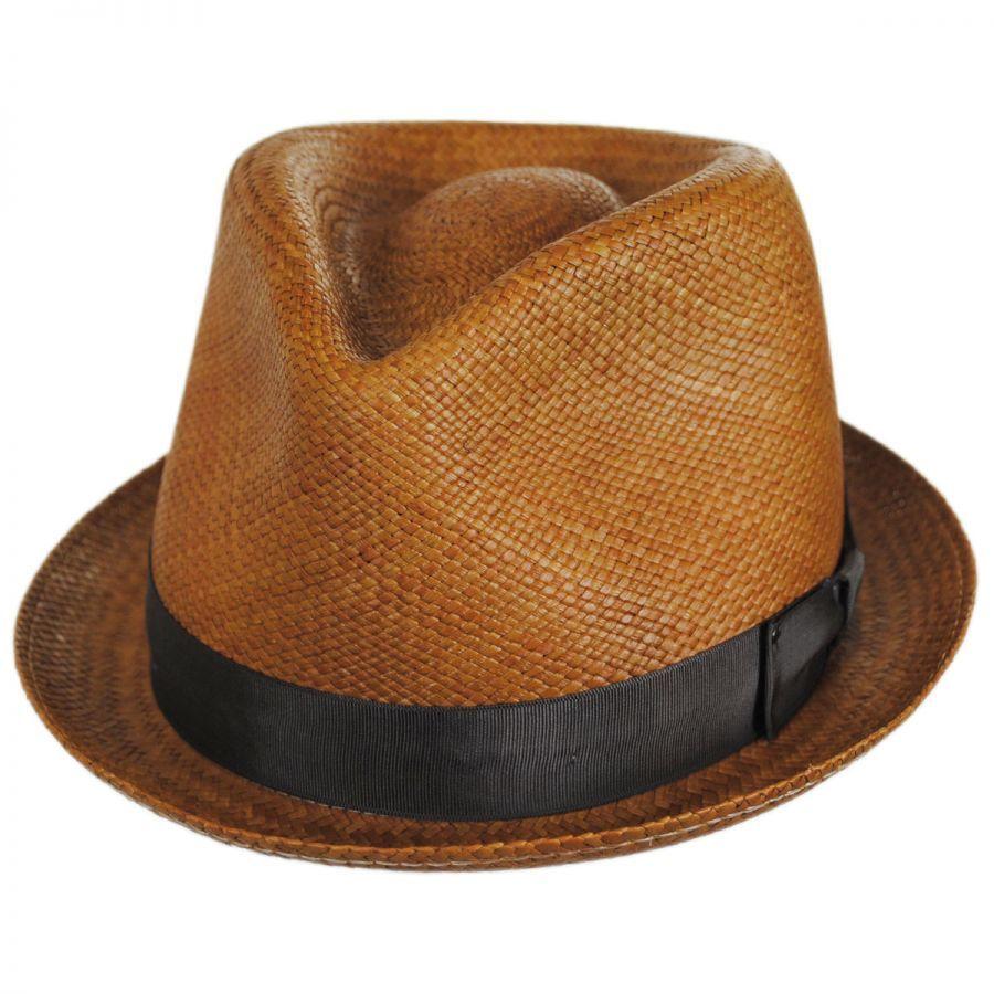 b20e8ffc Bailey Sydney Panama Straw Fedora Hat Panama Hats