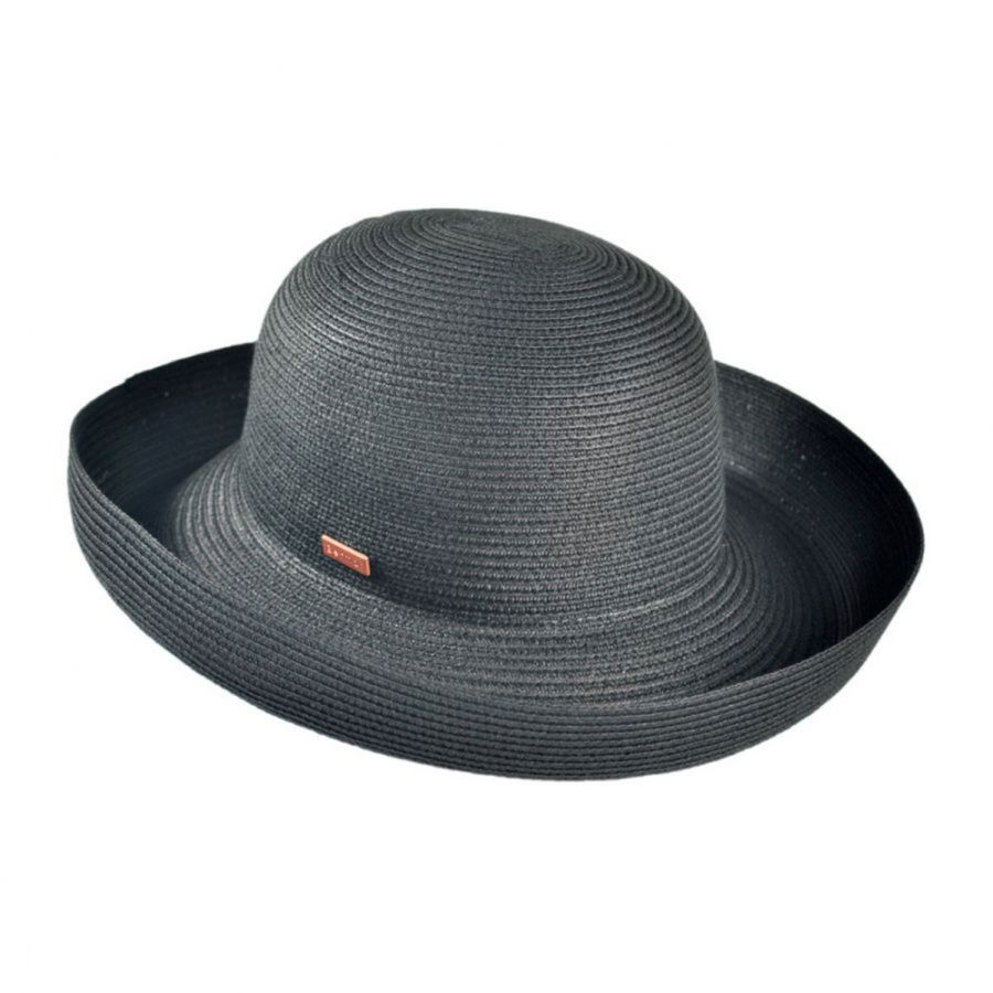 Betmar Classic Toyo Straw Roll Up Sun Hat Sun Protection 98e76a23258