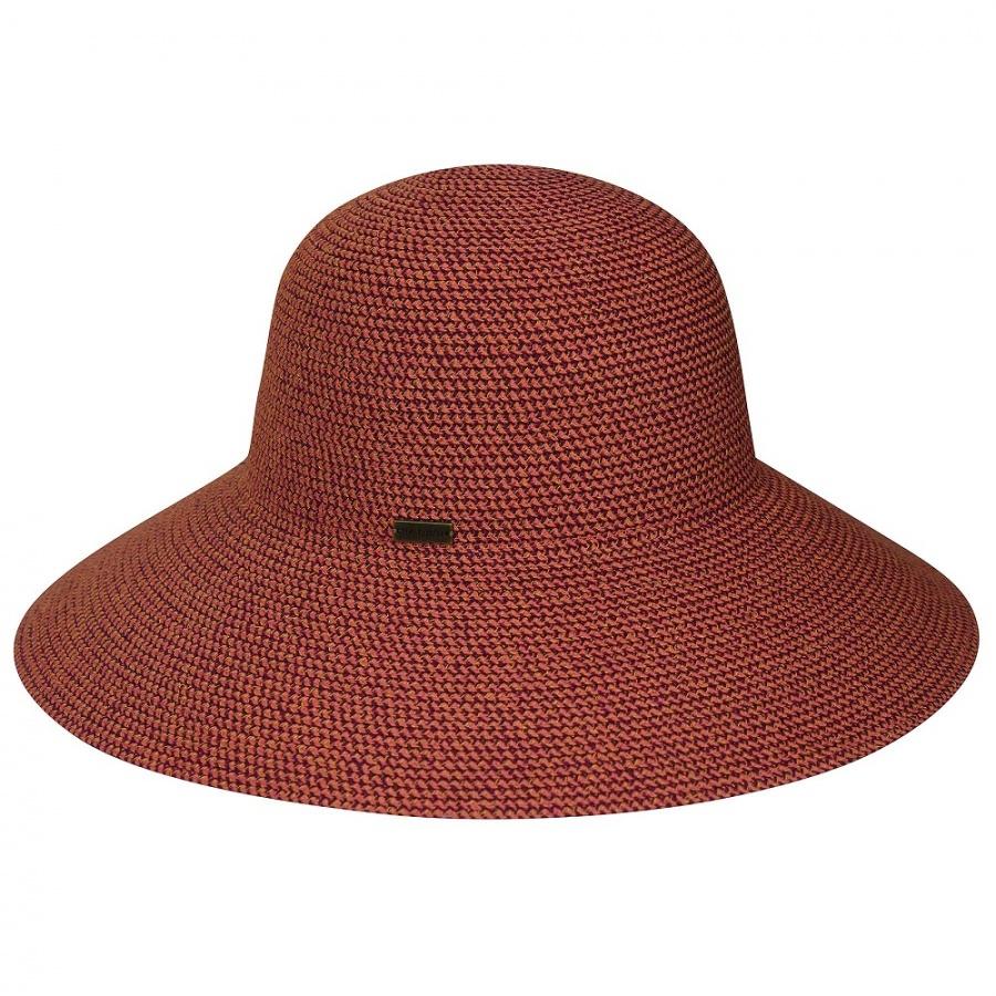 Betmar Gossamer Packable Straw Sun Hat Sun Protection 3f2029939