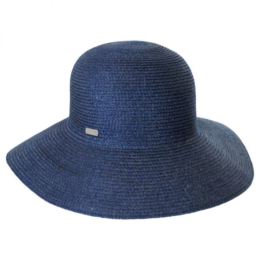 Betmar Gossamer Packable Straw Sun Hat Sun Protection e3637fa6a58
