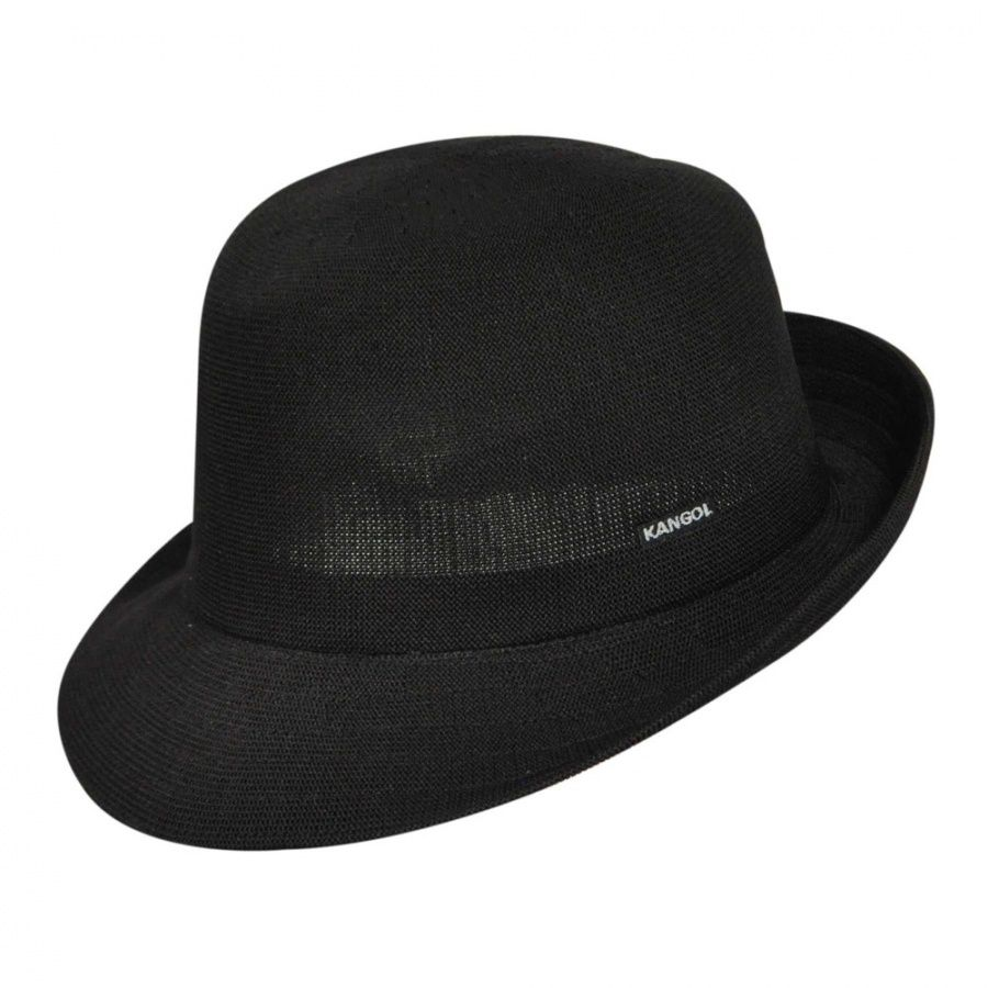 Kangol Hiro Trilby Fedora Hat Fabric ef794fd3e