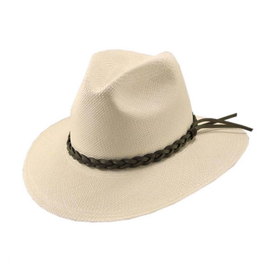 Pantropic Mendocino Panama Safari Fedora Hat - Made To Order Panama Hats cc9d0da73fe